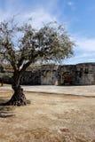 De het Noordenpoort aan het historische dorp van Idanha een Velha in Portugal Stock Fotografie