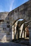 De het Noordenpoort aan het historische dorp van Idanha een Velha in Portugal Royalty-vrije Stock Afbeeldingen