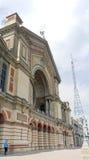 De het paleisbouw van Alexandra in Londen Stock Afbeelding
