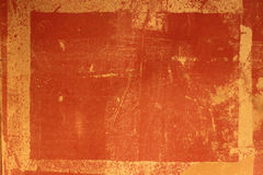 De het Rode Antieke Frame of Bekleding van Grundge Stock Foto's