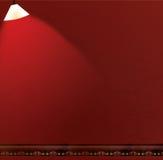 De het rode Plakboek van de Muur/Achtergrond van het Album Royalty-vrije Stock Afbeelding