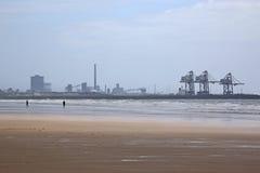 De het staalwerken van haventalbot Royalty-vrije Stock Foto's
