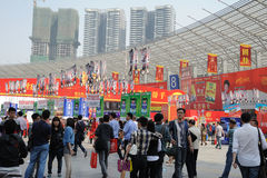 De het 88ste Voedsel van China en Markt van Dranken Royalty-vrije Stock Fotografie