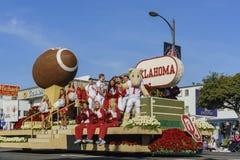 De de het teamvlotter en band van Oklahoma tonen van de buitengewone Toernooien van Th Royalty-vrije Stock Foto