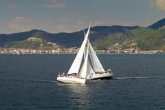 De het varende Zeil van de regatta & Trofee van de Pret Royalty-vrije Stock Foto's