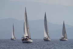 De het varende Zeil van de regatta & Trofee van de Pret in Turkije Royalty-vrije Stock Fotografie
