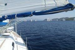 De het varende Zeil van de regatta & Trofee van de Pret in Turkije Stock Foto