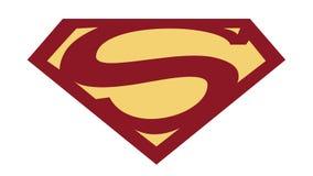 De het Verhaals Insignes van Batman/van de Superman royalty-vrije illustratie