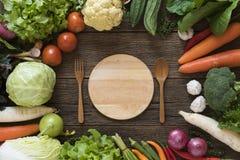 De het verse fruit en groente van de landbouwersmarkt stock fotografie