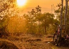 De het wachten zonneschijn naast Wat Tham Kuha Sawan Temple Royalty-vrije Stock Afbeeldingen