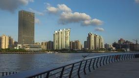 De het Zuidendijk van Shanghai stock foto