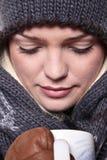 De hete Close-up van de Drank van de Winter Royalty-vrije Stock Afbeeldingen