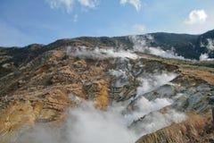 De hete lentes van Hakone royalty-vrije stock fotografie