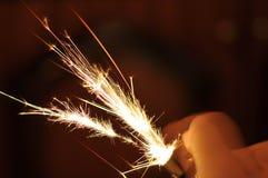 !! de hete lichte brand van de voorzichtigheidsvlam royalty-vrije stock fotografie