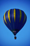 De hete luchtballon photgrphed in Bealton, toont de Vliegende Lucht van het Circus VA Stock Afbeeldingen