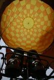 De hete luchtballon photgrphed in Bealton, toont de Vliegende Lucht van het Circus VA Stock Fotografie