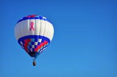 De Hete Luchtballon van borstkanker royalty-vrije stock foto's