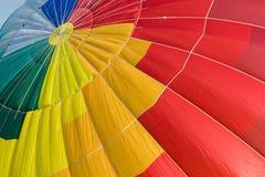 De hete luchtballon van de kleur Royalty-vrije Stock Foto