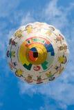 De hete luchtballon van kinderen Stock Foto