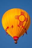 De Hete Luchtballon van New Mexico Stock Afbeeldingen