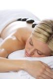De hete Massage van de Steen Stock Afbeeldingen
