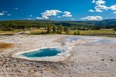 De hete thermische lente in Yellowstone Royalty-vrije Stock Afbeeldingen