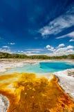 De hete thermische lente in Yellowstone Stock Afbeeldingen