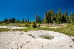 De hete thermische lente in Yellowstone Royalty-vrije Stock Fotografie