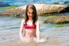 De hete zomer Stock Foto's