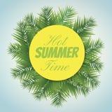 De hete zomer Royalty-vrije Stock Afbeelding
