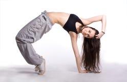 De heup-hop danser Stock Foto