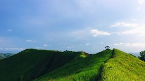 De heuvel stock fotografie