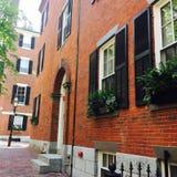 De heuvel Boston van het baken Royalty-vrije Stock Fotografie