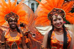 De Heuvel Carnaval van Notting Royalty-vrije Stock Foto's