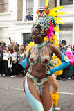 De Heuvel Carnaval van Notting Stock Foto's