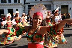 De Heuvel Carnaval van Notting in Londen Royalty-vrije Stock Afbeelding