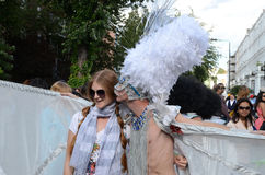 De heuvel Notting Carnaval achtentwintigste Augustus 2011 van 2011 Stock Afbeelding