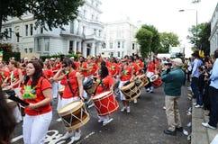 De heuvel Notting Carnaval achtentwintigste Augustus 2011 van 2011 Royalty-vrije Stock Afbeeldingen