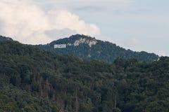 De Heuvel van Brasovtamper Stock Foto