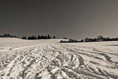 De heuvel van Brezovec, Dolny Kubin Stock Fotografie