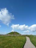 De Heuvel van Cairnpapple dichtbij Edinburgh, Schotland stock afbeeldingen