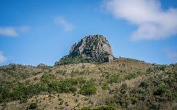 De heuvel van de Dajiansteen in nationale het parkmening van Kenting in Taiwan royalty-vrije stock afbeeldingen