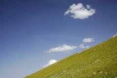 De heuvel van de berg Stock Foto's