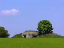De heuvel van de bunker Royalty-vrije Stock Fotografie