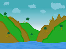 De Heuvel van de geit Royalty-vrije Stock Foto