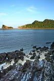 De heuvel van de kust Royalty-vrije Stock Foto's