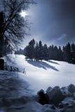De heuvel van de sneeuw Royalty-vrije Stock Foto