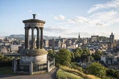 De Heuvel van Edinburgh Calton royalty-vrije stock foto's