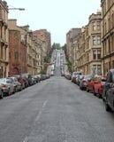 De heuvel van Glasgow stock fotografie