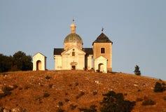 De heuvel van heilige Stock Afbeelding